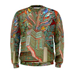 Traditional Korean Painted Paterns Men s Sweatshirt