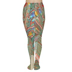 Traditional Korean Painted Paterns Women s Tights