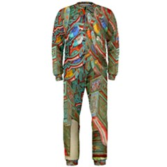 Traditional Korean Painted Paterns OnePiece Jumpsuit (Men)