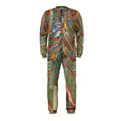 Traditional Korean Painted Paterns OnePiece Jumpsuit (Kids)