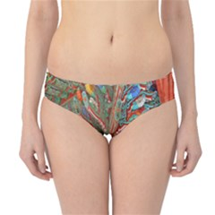 Traditional Korean Painted Paterns Hipster Bikini Bottoms