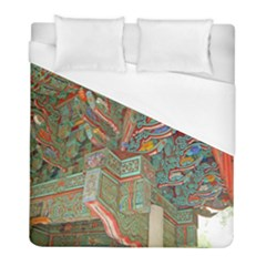 Traditional Korean Painted Paterns Duvet Cover (Full/ Double Size)