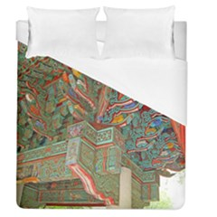Traditional Korean Painted Paterns Duvet Cover (Queen Size)