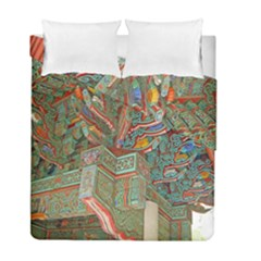 Traditional Korean Painted Paterns Duvet Cover Double Side (Full/ Double Size)