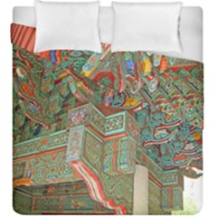 Traditional Korean Painted Paterns Duvet Cover Double Side (King Size)