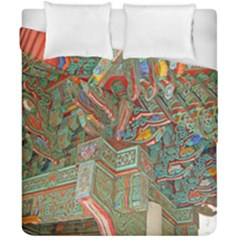 Traditional Korean Painted Paterns Duvet Cover Double Side (California King Size)