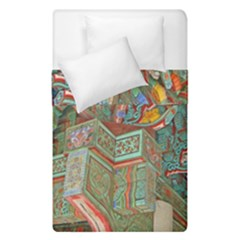 Traditional Korean Painted Paterns Duvet Cover Double Side (Single Size)