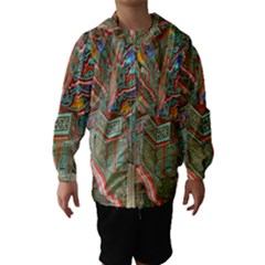 Traditional Korean Painted Paterns Hooded Wind Breaker (Kids)