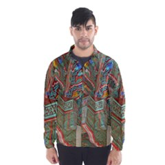 Traditional Korean Painted Paterns Wind Breaker (Men)