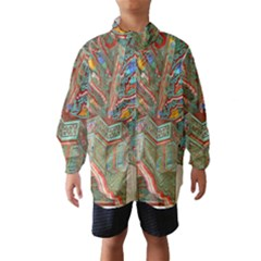 Traditional Korean Painted Paterns Wind Breaker (Kids)