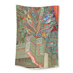 Traditional Korean Painted Paterns Small Tapestry