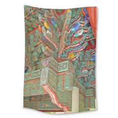 Traditional Korean Painted Paterns Large Tapestry