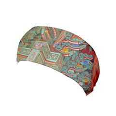 Traditional Korean Painted Paterns Yoga Headband