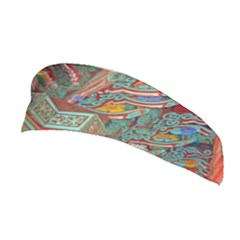 Traditional Korean Painted Paterns Stretchable Headband