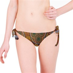 Aboriginal Traditional Pattern Bikini Bottom