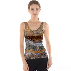 Aboriginal Traditional Pattern Tank Top