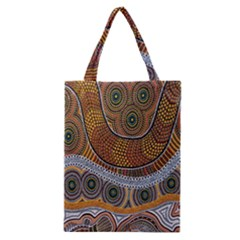Aboriginal Traditional Pattern Classic Tote Bag