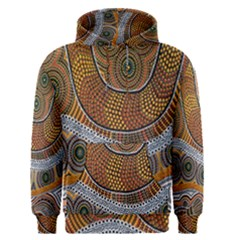 Aboriginal Traditional Pattern Men s Pullover Hoodie