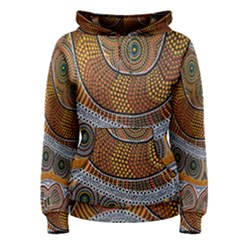 Aboriginal Traditional Pattern Women s Pullover Hoodie