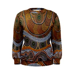 Aboriginal Traditional Pattern Women s Sweatshirt