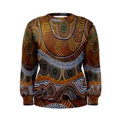 Aboriginal Traditional Pattern Women s Sweatshirt
