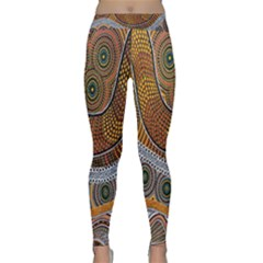 Aboriginal Traditional Pattern Classic Yoga Leggings