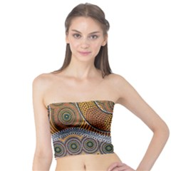 Aboriginal Traditional Pattern Tube Top