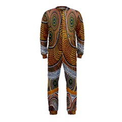 Aboriginal Traditional Pattern OnePiece Jumpsuit (Kids)