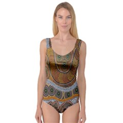 Aboriginal Traditional Pattern Princess Tank Leotard
