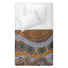Aboriginal Traditional Pattern Duvet Cover (Single Size)