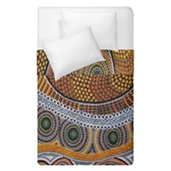 Aboriginal Traditional Pattern Duvet Cover Double Side (Single Size)