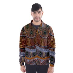 Aboriginal Traditional Pattern Wind Breaker (Men)