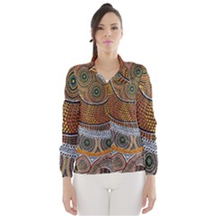 Aboriginal Traditional Pattern Wind Breaker (Women)