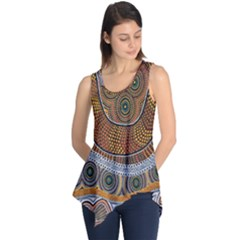 Aboriginal Traditional Pattern Sleeveless Tunic