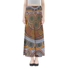 Aboriginal Traditional Pattern Maxi Skirts