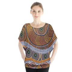 Aboriginal Traditional Pattern Blouse