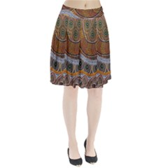 Aboriginal Traditional Pattern Pleated Skirt