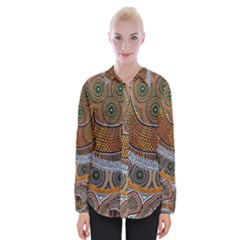 Aboriginal Traditional Pattern Shirts