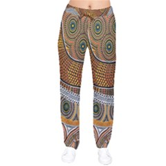 Aboriginal Traditional Pattern Drawstring Pants