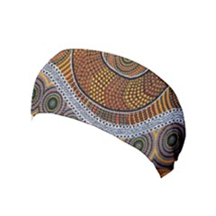Aboriginal Traditional Pattern Yoga Headband