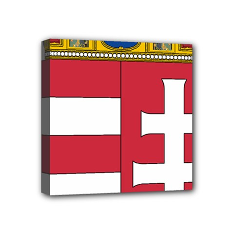 Coat of Arms of Hungary Mini Canvas 4  x 4