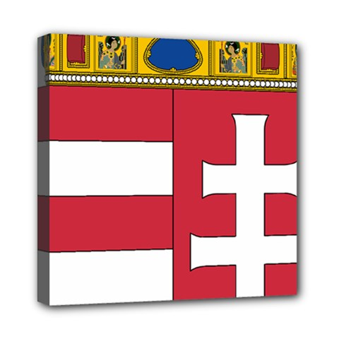 Coat of Arms of Hungary Mini Canvas 8  x 8