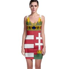 Coat of Arms of Hungary Sleeveless Bodycon Dress