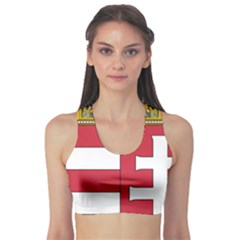 Coat of Arms of Hungary Sports Bra