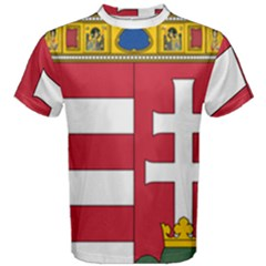 Coat of Arms of Hungary Men s Cotton Tee