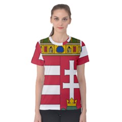 Coat of Arms of Hungary Women s Cotton Tee