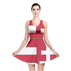 Coat of Arms of Hungary Reversible Skater Dress