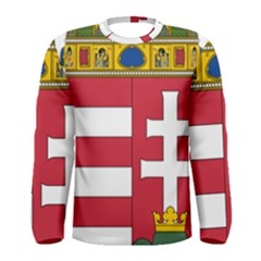 Coat of Arms of Hungary Men s Long Sleeve Tee