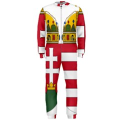Coat of Arms of Hungary OnePiece Jumpsuit (Men)