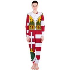 Coat of Arms of Hungary OnePiece Jumpsuit (Ladies)